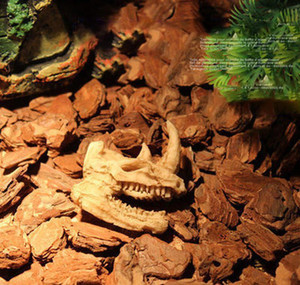 Simulation Statue Landscape Ornament Reptile Cave Artifical Rhino Sheepshead Resin Skull Aquarium Terrarium Deco jllKiz sinabag