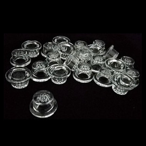 Replacemen Silicon Screen Glass Bowls Small 1 Hole Small 9 Hole Accessories Smoking Pot Tobacco Nail Honeycomb Bowls