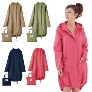 Largo fino impermeable mujeres hombres impermeable capucha luz de lluvia ponchos chaqueta capa hembra chubasqueros impermeables mujer 201202
