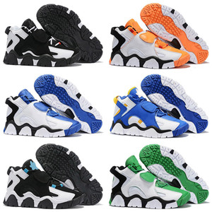 Chaussures de basketball de haute qualité Barratage Mid QS Black HyperGrape Enfants Hommes Formateurs Sports Sports Sports