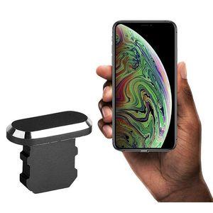 Porta do carregador da pele do plugue do plugue do metal do plugue anti para iphone 5 5s SE 6 6S 7 8 mais x x jlluez