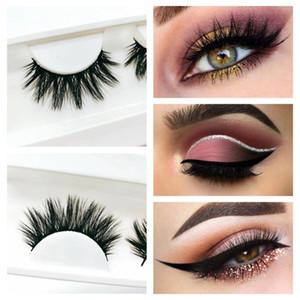 25mm false eyelash 5D faux mink eyelashes bulk false lashes Dramatic Fake Lashes Makeup Extension Eyelashes