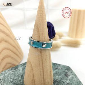 Original de alta qualidade boutique 925 anel de prata esterlina 2020 outono novo requintado jóias requintado all-match frete grátis