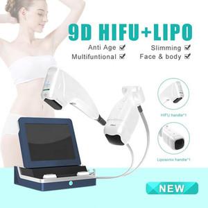 2020 mais novo Dual Handle Hifu 2 em 1 HIFU Liposonix Máquina da Coreia para Corpo emagrecimento Rápido Rápido
