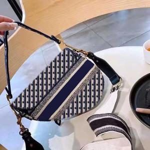 2020 yeni ünlü marka bayan çanta eyer kaliteli eyer haberci çanta çanta yıldızı ünlü ilham nakış omuz bag2 Retro