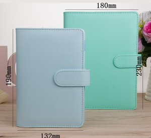 A6 Empty Notebook Binder Loose Leaf Notebooks Pu Leather Notebooks Binder For A6 Fille sqciFp dh_seller2010
