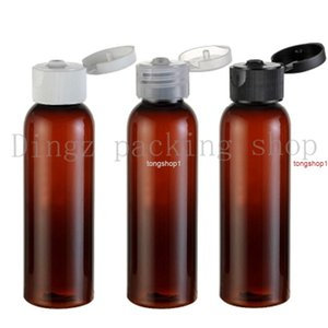 free shippingfree shipping 60ml brown round shoulder flip top perfume oils bottle wholesale suppliers 50pcs lot