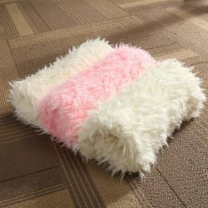 50* 50 cm New Soft Faux Fur Blanket Basket Filler Stuffer Newborn Baby Infant Baby Photography Prop Fotografia Background