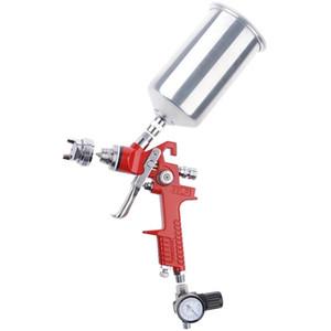 Профессиональный 1,4 мм HVLP-распылительный пистолет-автоматический покраски грунтовки-металлов хлопья с воздушным регулятором