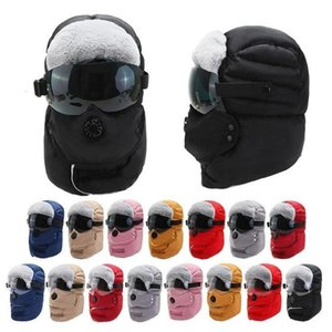 Cycling Motorcycle Cap Winter Keep Warm Cotton Outdoor Sports Mask Hat Thickening Cold Proof Ear Protection Ha SEA GWC5444