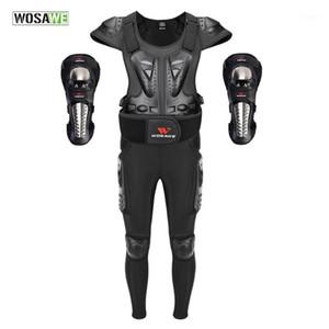 Abiti da sci Abiti da sci EVA Pantalone ginocchio gomito per la protezione da equitazione Armor MotoCross Code Corpo Ptotective Gears Protector1