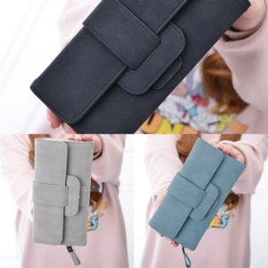 p8h7 ZIPPY Wallet Mono Vernis Patent Solid Embossed Leather Woman Fashion Women Card Holder Wallets Single Zipper Long multicolor
