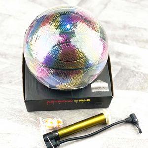 Hot Sale Custom Fashion Basketball Ball With 3 Colors Leather Basketball