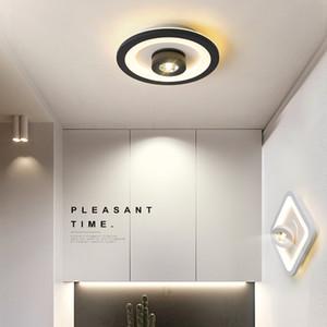 Modern LED ceiling lights for bedroom cloakroom aisle corridor balcony acrylic led ceiling light fixtures AC110-220V plafondlamp