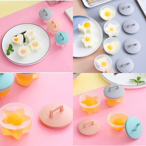 Home Kitchen Egg Steamer Non Stick Cup Boiled Eggs Mould 4 Pcs Set With Lid And Brush Household Supplies 8 8wd J2