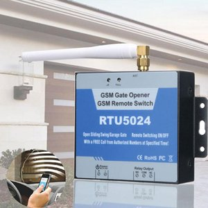 RTU5024 GSM Gate Opener 2G Remote Control Door Barrier Electronic Lock Relay Switch 200 Authorization Access Free Call