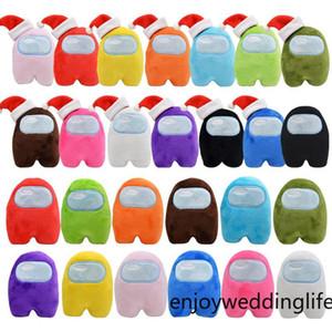 DHL ücretsiz biz arasında ücretsiz peluş oyuncaklar 10 cm yeni oyun bebek aranızda peluş oyuncak 13 renkler peluş sevimli bebekler doldurulmuş oyuncaklar FY7326