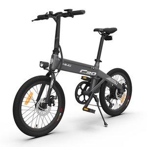 [Ship from EU & NO TAX]HIMO C20 Electric Moped Bicycle 250W DC Motor ebike 25km h 80KM Mileage Outdoor Urban e bike 20 inch Tire