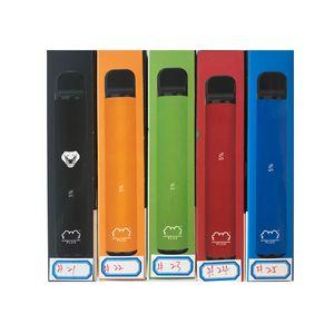 Puffplus Nuovo 800 + cartucce vape monouso sfumabili batteria vape pod 550mah batteria 3.2ml pre-riempito baccelli vaporizzatore portatile vaporizzatore portatile dispositivo di avviamento