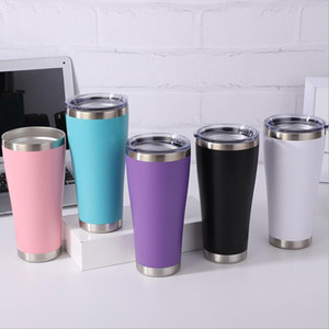Tumblers Double Vacuum Insulated Water Bottle Stainless Steel Travel Mug 30oz Tumbler Cup with Closing Lid SEA SHIPPING GWC4118
