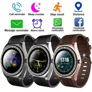 V5 Smart Watch Bluetooth 3.0 Беспроводные SmartWatches SIM Интеллектуальные мобильные телефоны Часы Inteligente для Android Cellphones с коробкой