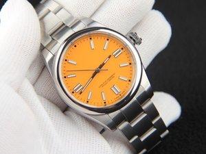 Última versión 41mm Venta caliente Hombres Movimiento mecánico automático Deporte al aire libre Reloj de pulsera de lujo Reloj de hombre de acero inoxidable Envío gratis