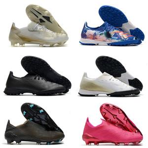 Dernier x fantôme 1 FG Hommes Femmes Garçons Ghosted .1 Chaussures de football de football de football de football Boots de football