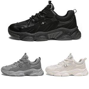Moda scarpe da corsa per gli uomini Donne formatori Bianco beige nero grigio moda scarpe sportive all'aperto taglia 39-44