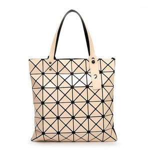 Bolso femenino femenino plegado guía de tela escocesa moda tela casual bao bao bolso bolso bolso baobao hombro 1