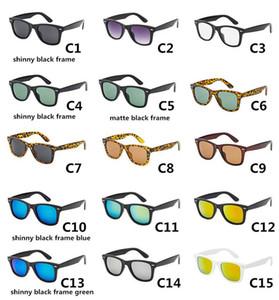 Neue Retro Designer Color Film 2140 Sonnenbrille Mode Fahren Männer Frauen Sonnenbrille Vintage Volles Paket 28 Farbe 50mm Freies Verschiffen