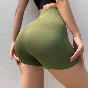 Yoga Outfits Sexy Women Fitness Shorts High Waisted Workout Sports Activewear For Gym Athletic Womens 2021 Summer 1