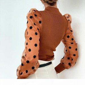 Womens Designer Parepered Pullover свитер Peag Weep Weet High воротник мода весна осеннее одежда женский повседневный свитер