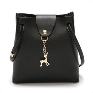 Hot Sale Fashion Mini Handbag Women Purse PU Leather Bag With Deer Toy Bolsa Feminina Bolsos Mujer