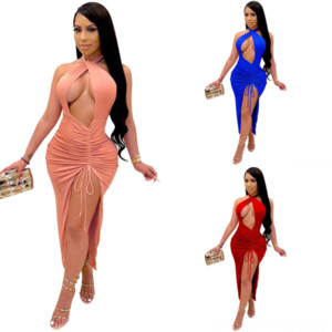 UIW Dress Traje Sleeve Cardigan Vestido de fiesta con paneles Dos Pie Sexy 2018 Mujeres CS larga manga larga Mujer Ropa