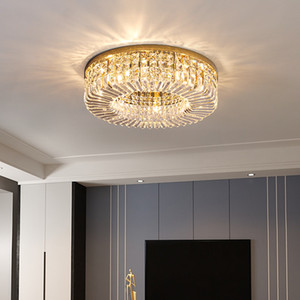 New ceiling crystal chandelier lights for dining room bedroom foyer luxurious modern chandeliers lamps creative led ceiling lighting