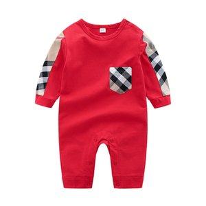 طفل ملابس الطفل الشريط السروال القصير ربيع الخريف جديد رومبير القطن الوليد الطفل بنات بوي الاطفال مصمم الرضع حللا