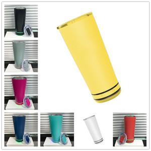 18oz Nouvelle vente Haut-parleur Bluetooth Smart Tumbler Music Bouteille d'eau Bouteille en acier inoxydable Coupe de musique pour une partie d'anniversaire cadeau 8 couleurs