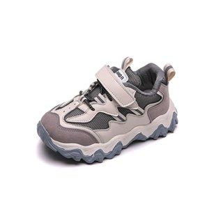 CNFSNJ 2020 New Children Shoes Girls Boys Sport Shoes Anti slip Soft Bottom Kids Fashion Sneaker Comfortable Breathable Mesh Y1118