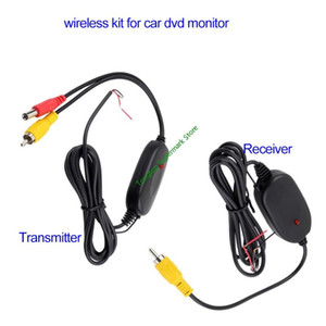 Easy Installation Car Rear View Camera Wifi Wireless Wiring Kit 2.4GHz DC 12V Vehicle Cameras Wireless Transmitter Receiver