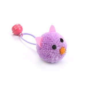 Mouse Head Modelling Cats Toy Small Bell Plush Kitty Pets Toys Interaction Interesting Articles Pet Supplies Funny Hot Sale 1 5cw M2
