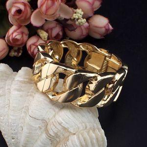 Cheap Bangles UKMOC Fashion Casual Design Alloy Chain Shape Women Accessories Spring Opened Cuff Bracelets Costume Jewellery Pulseiras B266