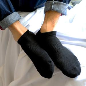 Homme Chaussettes respirantes de coton Fashion Pantoufle athlétique en plein air pour chaussettes de sport douce blanche noire unisexe pour la vente en gros