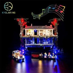 KYGLARING KIT LED LED KIT POUR LE LEGO 75810 STRANGER THITS L'APPOSE DOWN (NOT PAS INCLUREZ LES BLOQUES SET) Q1121