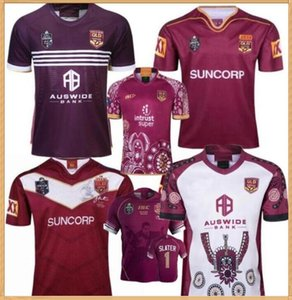 2019 2020 Rugby League Queensland 2018 QLD MAROONS Malou Rugby Jersey 2019 QLD MAROONS RUGBY JERSEY