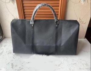 Высочайшее качество Мужские путешествия багажники Мужские сумки кожаные сумки Duffle Bag Ophidia Courrier сумки