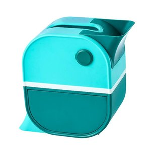 Dispenser Storage Holder Bathroom Organizer Tissue Box Double Layer Home Office With Drawer Bedroom Bird Shaped Paper Towel