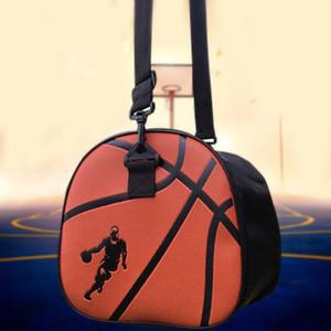 PU Leather Black Basketball Shoulder Bag Waterproof Sport Soccer Ball Bags Handbag Football Volleyball Carry Storage Gym Bag Z1121