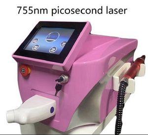 Picolaser Portable Yag Picolaser 755nm 532nm 1064nm1320nm Machine de tatouage de tatouage Pigment Retrait de l'encre Eweebrow Dispositif de beauté