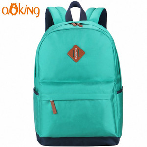 Aoking Leisure For Teenage Girls And Boys Laptop Backpack Computer School Backpacks Leisure For Teenage Girls Simple Daily Fashi L1Ej#