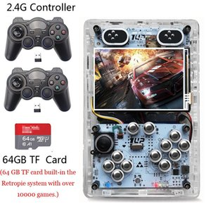 3.5 Inch Screen Raspberry Pi 3 B+ Handheld Retro Game Player Pi- Boy 64GB HDMI Output Built-in 10000 games Video Game Consoles
